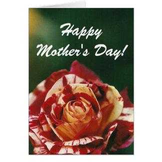 Harlequin subió • El día de madre Tarjeta De Felicitación