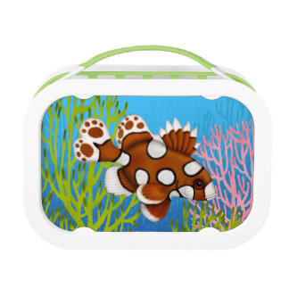 Harlequin Sweetlips Coral Reef Fish Lunchbox