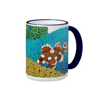 Harlequin Sweetlips on Zoanthid Corals Mug