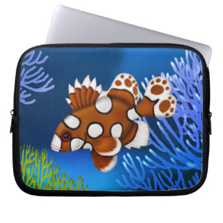 Harlequin Sweetlips Reef Fish Electronics Bag