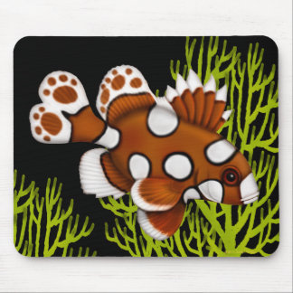 Harlequin Sweetlips Reef Fish Mousepad