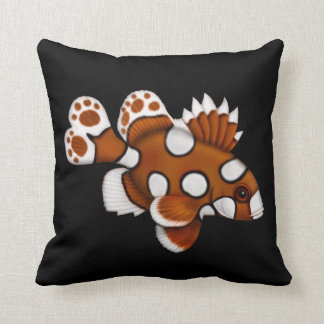 Harlequin Sweetlips Reef Fish Pillow