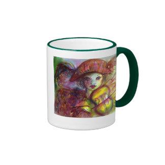 Harlequin Taza De Dos Colores