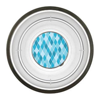 Harlequin winter pattern bowl