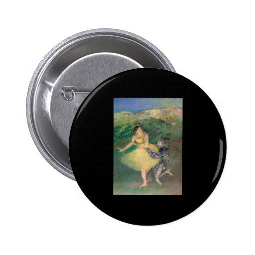 Harlequin y Colombine de Edgar Degas Pin