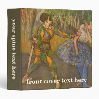 Harlequin y Columbine de Edgar Degas