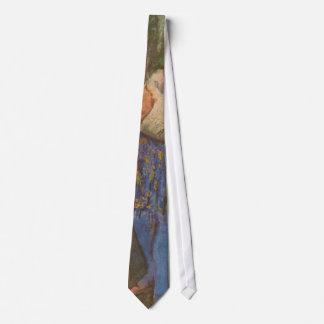 Harlequin y Columbine por arte del vintage de Corbata Personalizada