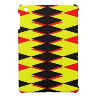 Harlequin Yellow Jokers Deck iPad Mini Cover