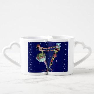 HarlequinAndBallerina 2 Lover's Mug Set