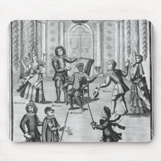 Harlequin's Lottery Mousepad