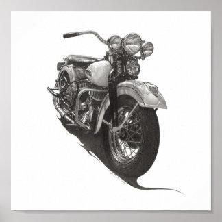Harley 1948 WL Póster