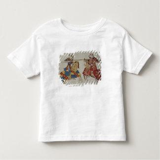 Harley 4205 f.366 Jousting Knights, c.1445 (vellum Toddler T-shirt