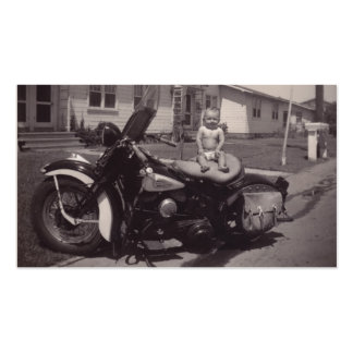 harley baby business card