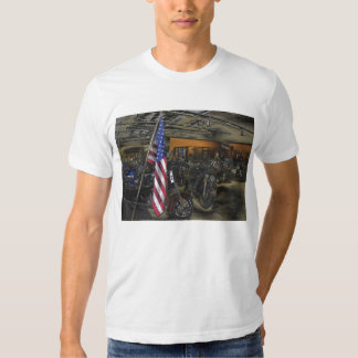 Harley Davidson American Flag Tee Shirts