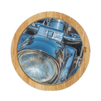 Harley Davidson bike, bike week Round Cheese Board