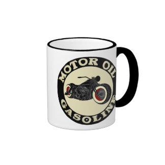 Harley Davidson - Bobber - engine oil - Gasoline Ringer Mug