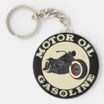 Harley Davidson - Bobber - Motor Oil - Gasoline Schlüsselbänder
