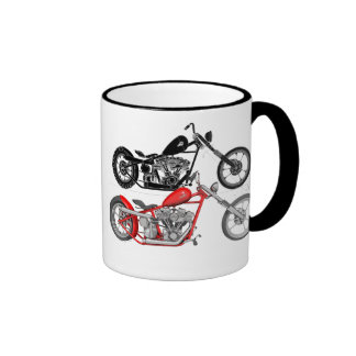 Harley Davidson - Chopper Coffee Mugs