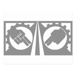 Harley Davidson drive safe symbol Postcard