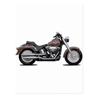 Harley Davidson Fat Boy Postcard