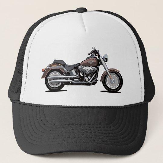 Harley Davidson Fat Boy Trucker Hat