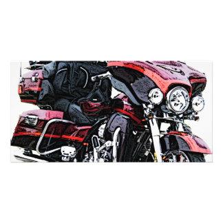 Harley Davidson Motorcycle Card