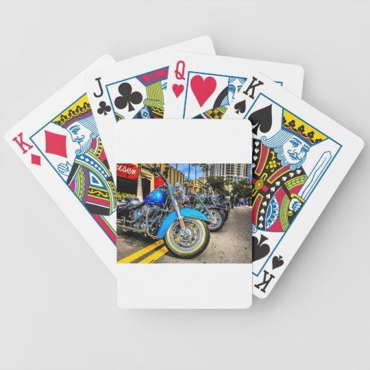Harley Davidson Motorcycles Bicycle Playing Cards