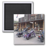 Harley Davidson Motorcycles by Western Saloon Fridge Magnets