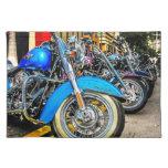 Harley Davidson Motorcycles Cloth Placemat