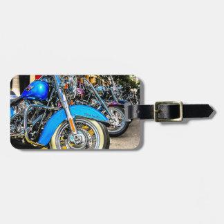Harley Davidson Motorcycles Luggage Tag