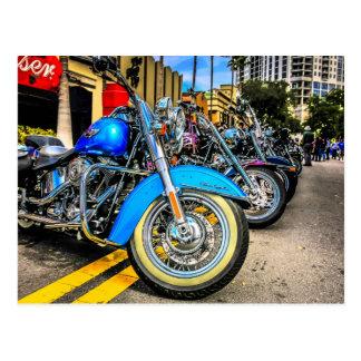 Harley Davidson Motorcycles Post Card