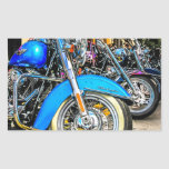 Harley Davidson Motorcycles Rectangular Stickers