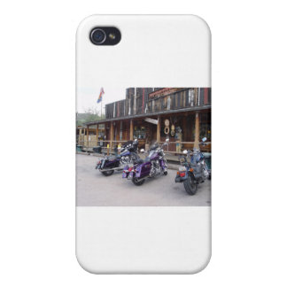 Harley Davidson Motorcycles Western Saloon iPhone 4/4S Cases