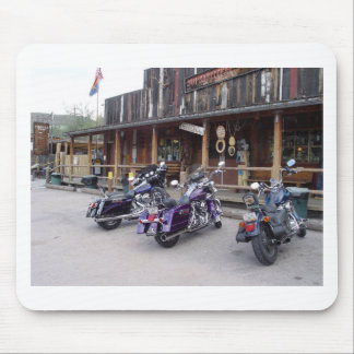 Harley Davidson Motorcycles Western Saloon Mouse Pad