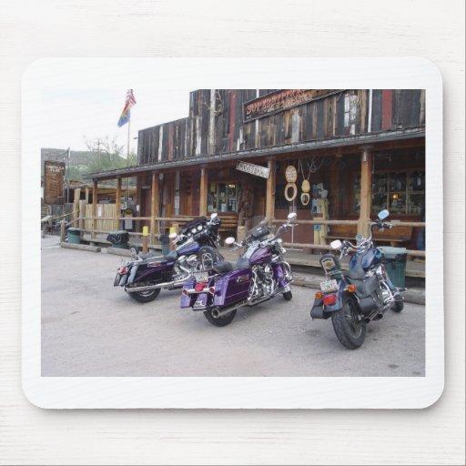 Harley Davidson Motorcycles Western Saloon Mousepad