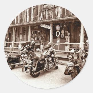 Harley Davidson Motorcyles Pegatina Redonda