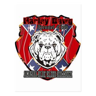 Harley Dawg Postcard