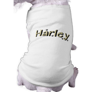 Harley Doggie Name Sweater Pet Clothes