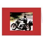 Harley Dude Greeting Card