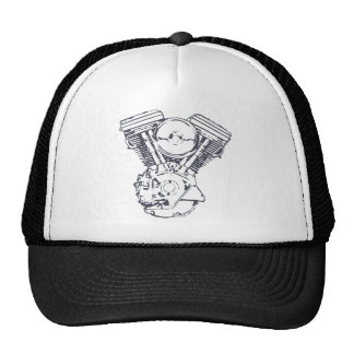 Harley Evolution V-Twin Trucker Hat
