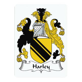 Harley Family Crest Card
