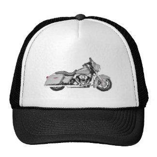 Harley FLHX Street Glide Hand Painted Art Brush Mesh Hat