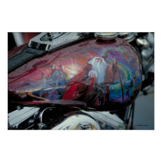 Harley Fuel Tank - Sturgis, S.D. Poster