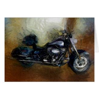 Harley Motorcycle Card
