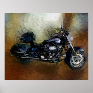 Harley Motorcycle Print
