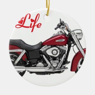 HARLEY MY LIFE.png Ceramic Ornament