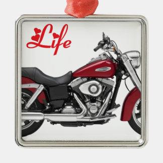 HARLEY MY LIFE.png Metal Ornament