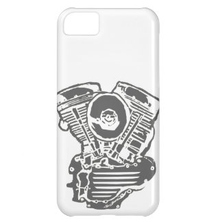 Harley Panhead Engine Drawing iPhone 5C Cover