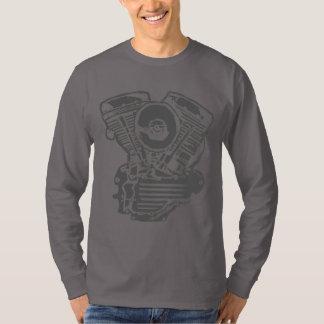 Harley Panhead Engine Drawing T-Shirt