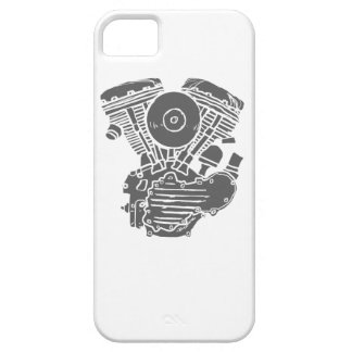 Harley Panhead Motor Drawing iPhone SE/5/5s Case